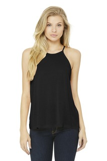 BELLA+CANVAS ® Womens Flowy High-Neck Tank.-