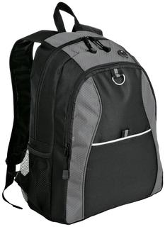 Port Authority Hospitality Bags ® Contrast Honeycomb Backpack.-Port Authority