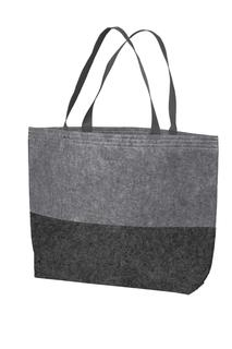 Port Authority® Large Felt Tote.-Port Authority