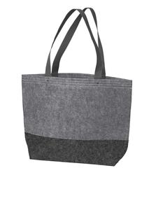 Port Authority® Medium Felt Tote.-