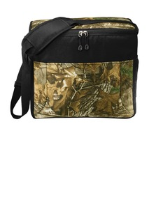 Port Authority Hospitality Bags ® Camouflage 24-Can Cube Cooler.-Port Authority