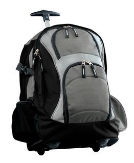 Port Authority Wheeled Backpack.-