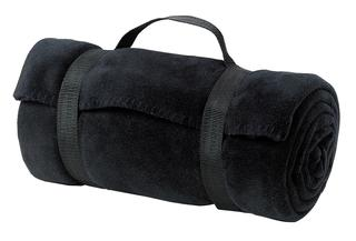 Port Authority Hospitality Accessories ® - Value Fleece Blanket with Strap.-Port Authority