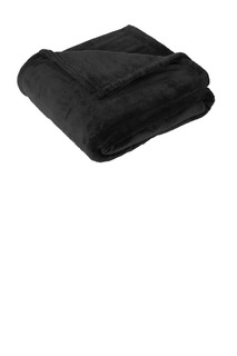 Port Authority ® Oversized Ultra Plush Blanket.-Port Authority
