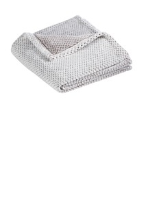 Port Authority ® Plush Texture Blanket.-Port Authority
