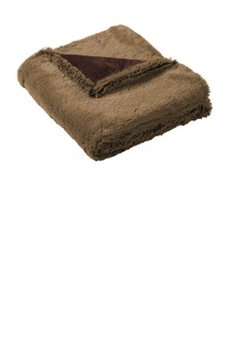 Port Authority ® Faux Fur Blanket.-Port Authority