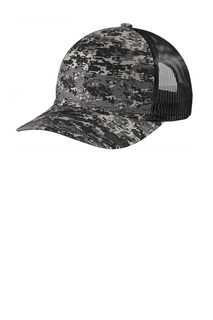 Port Authority ® Digi Camo Snapback Trucker Cap-Port Authority