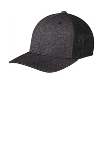 Port Authority ® Flexfit ® Melange Mesh Back Trucker Cap-
