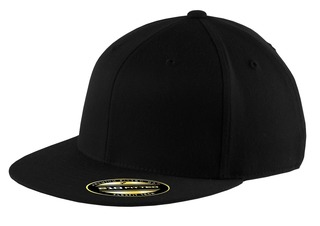 Port Authority® Flexfit® Flat Bill Cap.-Port Authority