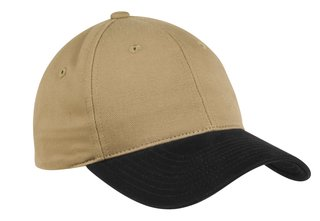 Port Authority® Two-Tone Brushed Twill Cap.-Port Authority