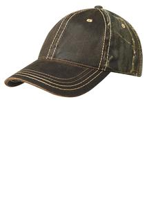 Port Authority Pigment Print Camouflage Cap.-