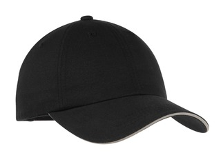 Port Authority® Reflective Sandwich Bill Cap.-Port Authority