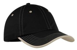 Port Authority Vintage Washed Contrast Stitch Cap.-