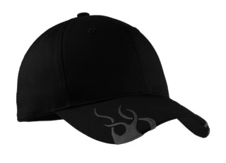 Port Authority® Racing Cap with Flames.-Port Authority