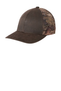Port Authority Pigment Print Camouflage Mesh Back Cap-