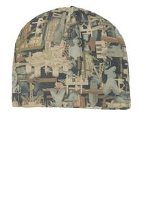 Port Authority Camouflage Fleece Beanie.-