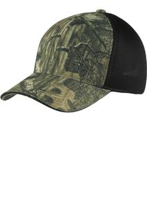 Port Authority Camouflage Cap with Air Mesh Back.-