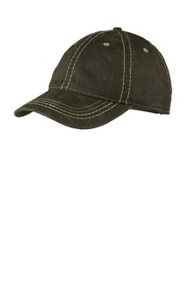 Port Authority® Pigment Print Distressed Cap.-Port Authority