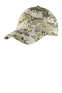 Port Authority® Digital Ripstop Camouflage Cap.-Port Authority
