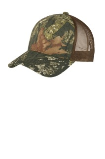 Port Authority Structured Camouflage Mesh Back Cap.-