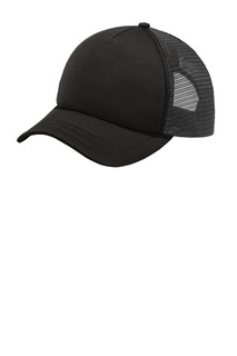 Port Authority ® 5-Panel Twill Foam Trucker Cap.-