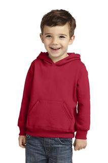 Port & Company Toddler Core Fleece Pullover Hooded Sweatshirt.-