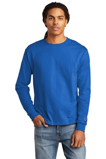 Champion Heritage 5.2-Oz. Jersey Long Sleeve Tee-Hanes