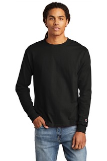Champion ® Heritage 5.2-Oz. Jersey Long Sleeve Tee-