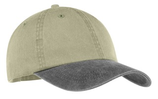 Port & Company® -Two-Tone Pigment-Dyed Cap.-
