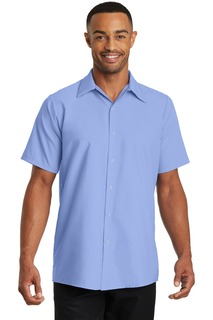 Red Kap® - Short Sleeve Pocketless Gripper Shirt.