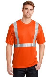 CornerStone® - ANSI 107 Class 2 Safety T-Shirt.-