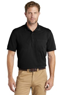 CornerStone Industrial Snag-Proof Pique Pocket Polo.-