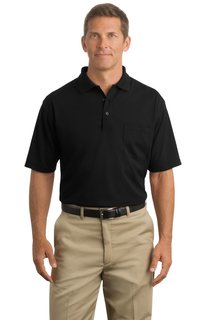 CornerStone® - Industrial Pocket Pique Polo.-CornerStone