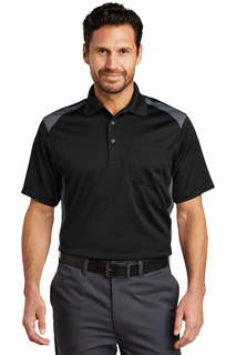 CornerStone® Select Snag-Proof Two Way Colorblock Pocket Polo.-