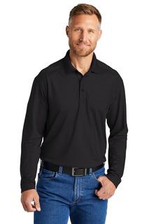CornerStone Select Lightweight Snag-Proof Long Sleeve Polo-CornerStone