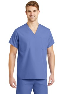 CornerStone® - Reversible V-Neck Scrub Top.-CornerStone