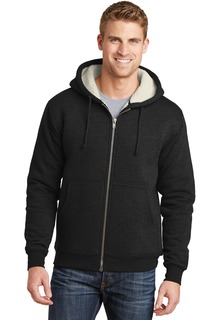 CornerStone® Heavyweight Sherpa-Lined Hooded Fleece Jacket.-