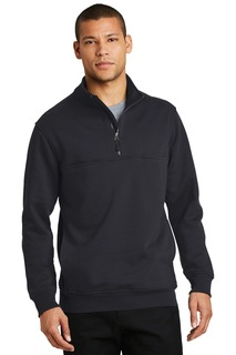 CornerStone® 1/2-Zip Job Shirt.-CornerStone