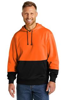 CornerStone Enhanced Visibility Fleece Pullover Hoodie-