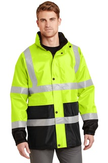 CornerStone® - ANSI 107 Class 3 Waterproof Parka.-CornerStone