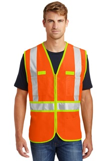 CornerStone® - ANSI 107 Class 2 Dual-Color Safety Vest.-CornerStone