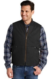CornerStone® Washed Duck Cloth Vest.-CornerStone