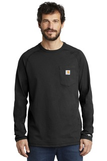 Carhartt Force ® Cotton Delmont Long Sleeve T-Shirt.-