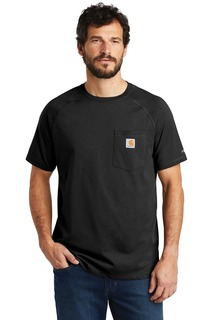 Carhartt Force ® Cotton Delmont Short Sleeve T-Shirt.-
