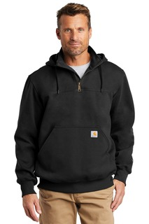 Carhartt ® Rain Defender ® Paxton Heavyweight Hooded Zip Mock Sweatshirt.-Carhartt