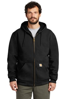 Carhartt Rain Defender Rutland Thermal-Lined Hooded Zip-Front Sweatshirt.-