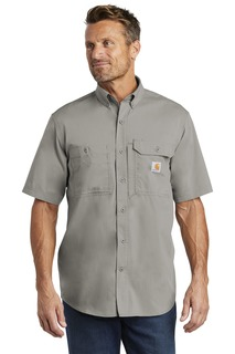 Carhartt Force Ridgefield Solid Short Sleeve Shirt.-
