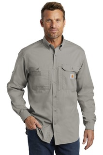 Carhartt Force ® Ridgefield Solid Long Sleeve Shirt.-Carhartt