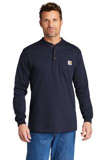 Carhartt Long Sleeve Henley T-Shirt-Carhartt