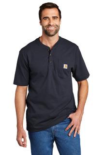 Carhartt® Short Sleeve Henley T-Shirt-